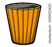 empty flower pot icon   Shutterstock .eps vector #1045422625
