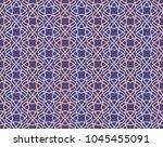 vector flower web seamless... | Shutterstock .eps vector #1045455091