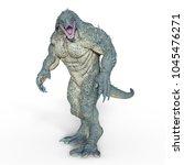 3d cg rendering of a monster | Shutterstock . vector #1045476271