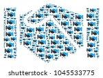 handshake composition created... | Shutterstock .eps vector #1045533775