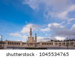 fatima is located in the centro ... | Shutterstock . vector #1045534765