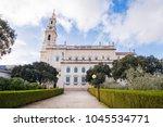 fatima is located in the centro ... | Shutterstock . vector #1045534771