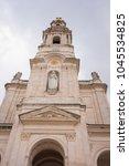 fatima is located in the centro ... | Shutterstock . vector #1045534825