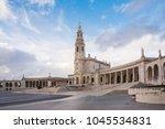 fatima is located in the centro ... | Shutterstock . vector #1045534831
