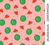 seamless pattern of ripe...   Shutterstock .eps vector #1045544524