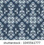 scandinavian floral background  ... | Shutterstock .eps vector #1045561777
