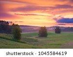 landscape photographed during... | Shutterstock . vector #1045584619
