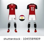 3d realistic of font and back...   Shutterstock .eps vector #1045589809