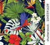 seamless pattern  background... | Shutterstock .eps vector #1045591639
