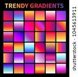trendy gradients. screen...
