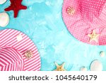 set of woman's things... | Shutterstock . vector #1045640179