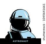 astronaut. space illustration. | Shutterstock .eps vector #1045641661