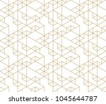 seamless linear pattern with...   Shutterstock .eps vector #1045644787