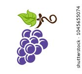 Grapes Icon  Vector Fruit...