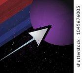 abstract vector illustration of ... | Shutterstock .eps vector #1045676005