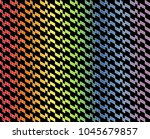 abstract geometric pattern in...