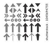 sign black arrow icon | Shutterstock .eps vector #1045694755
