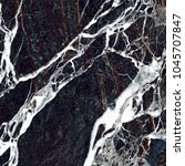 black vein marble background. ... | Shutterstock . vector #1045707847