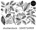 vector collection of  hand... | Shutterstock .eps vector #1045714909