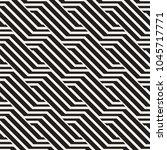vector seamless pattern. modern ... | Shutterstock .eps vector #1045717771