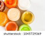 variety of homemade baby... | Shutterstock . vector #1045729369