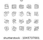 terminal well crafted pixel...   Shutterstock .eps vector #1045737001