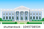 the facade of a classical... | Shutterstock .eps vector #1045738534