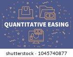 conceptual business... | Shutterstock . vector #1045740877