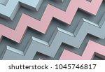 abstract 3d rendering of... | Shutterstock . vector #1045746817