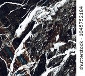 black vein marble background. ... | Shutterstock . vector #1045752184