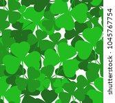 saint patrick's day seamless... | Shutterstock .eps vector #1045767754
