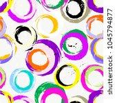 seamless background pattern ...   Shutterstock .eps vector #1045794877