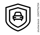 car security system   Shutterstock .eps vector #1045796704