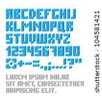 Retro Typeset With Letters And...