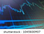 data analyzing in forex market  ... | Shutterstock . vector #1045830907