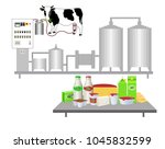 vector illustration. production ... | Shutterstock .eps vector #1045832599
