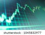 macro close up. stock diagram... | Shutterstock . vector #1045832977