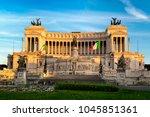 rome  italy   april 11  2017 ...   Shutterstock . vector #1045851361
