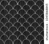 elegant seamless pattern with... | Shutterstock . vector #1045868845