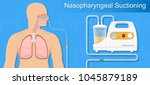 suction patient adult nares...   Shutterstock .eps vector #1045879189
