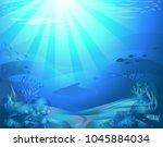 vectorial illustration of a... | Shutterstock .eps vector #1045884034
