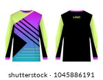 jersey design for extreme... | Shutterstock .eps vector #1045886191