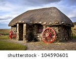 Thatched Cottages  Isle Of Sky...