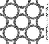 black and white vector... | Shutterstock .eps vector #1045909579