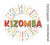 kizomba vector logotype.... | Shutterstock .eps vector #1045915261