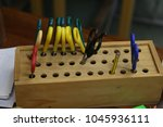 close up image of a box of... | Shutterstock . vector #1045936111