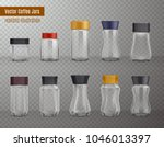 instant coffee empty realistic... | Shutterstock .eps vector #1046013397