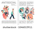 sociopathy infographics book...   Shutterstock .eps vector #1046015911