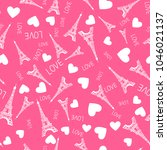 seamless pattern. illustration... | Shutterstock .eps vector #1046021137