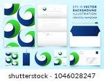 modern corporate identity... | Shutterstock .eps vector #1046028247